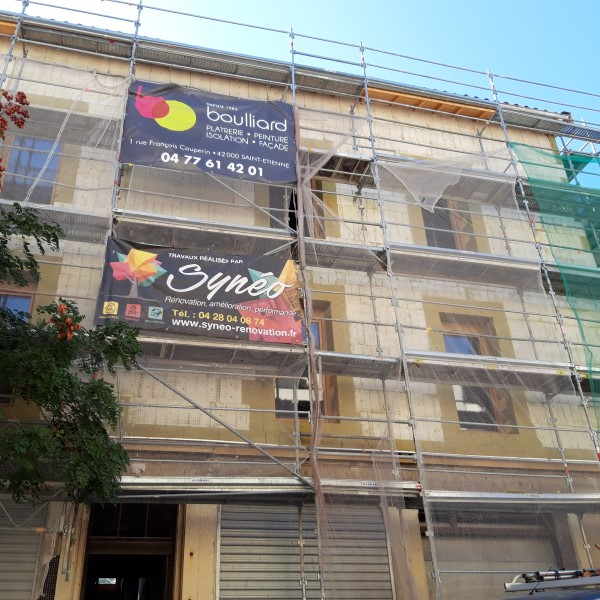 Rénovation d'un habitat partagé de 6 logements à Pierre Bénite (Rhône – 69)