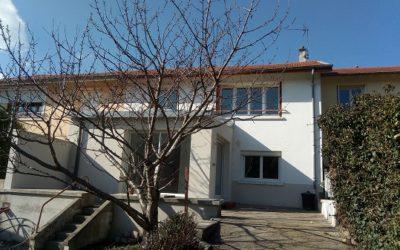 Rénovation et extension d'une maison individuelle à Saint Etienne